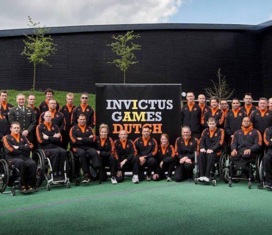 Invictus Games Team Nederland 2016