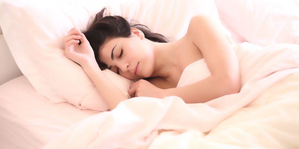 slapen-vrouw
