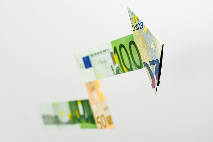 gevouwen bankbiljetten