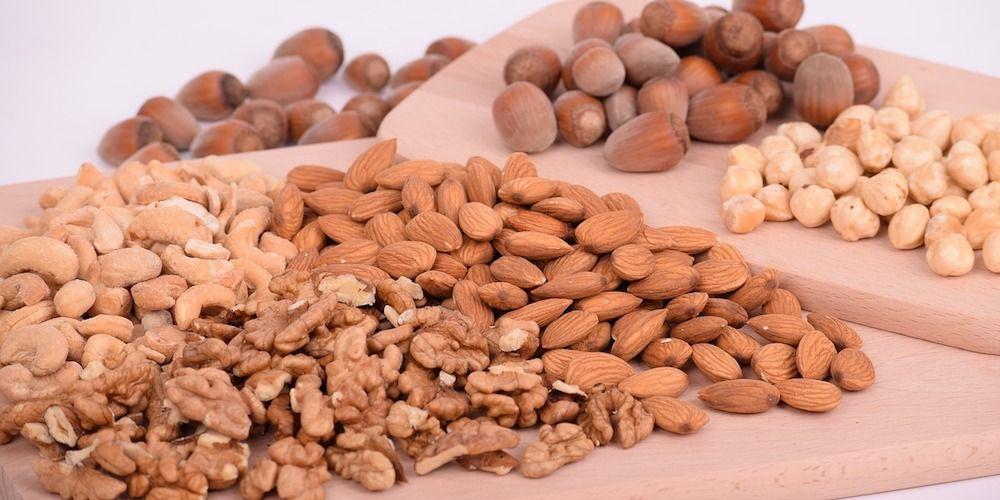 koken met noten