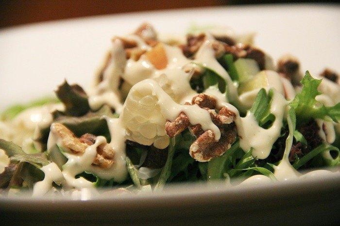 salade met noten