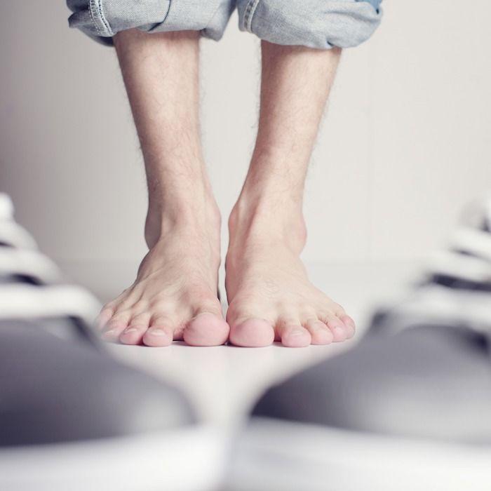 voeten mannenvoeten
