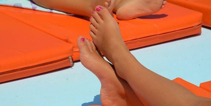 voeten vrouwenvoeten