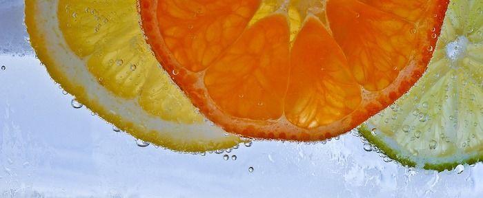 Vitamine C Citroen Sinaasappel Lemon