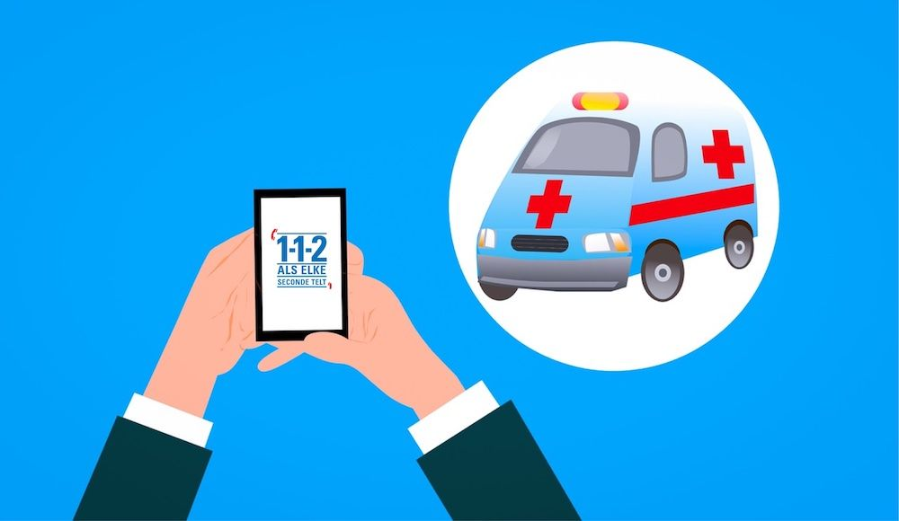 112 ambulance