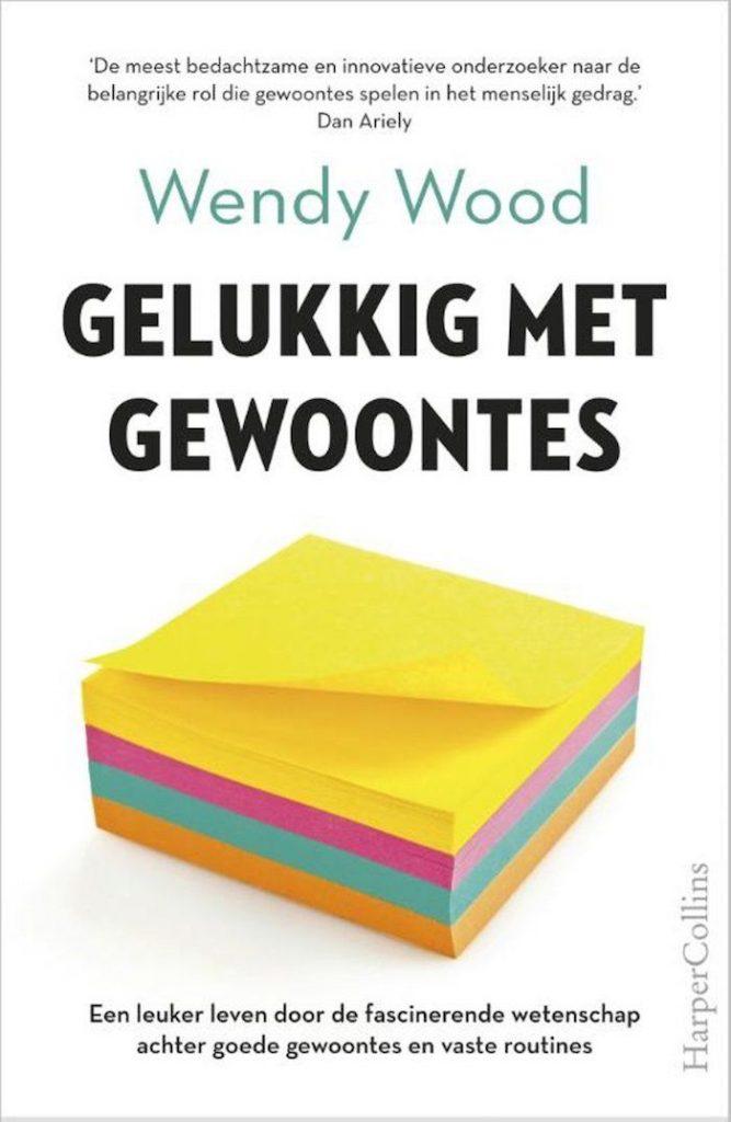 Gelukkig met gewoontes Wendy Wood boekcover