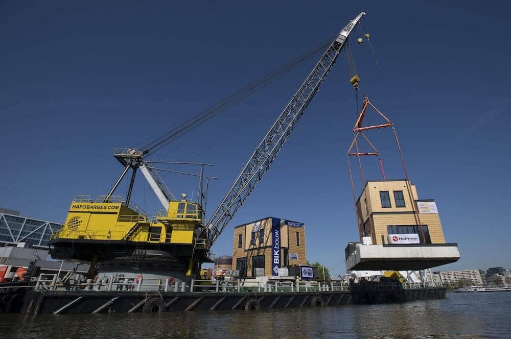 Waterwoning Havenloft Nassauhaven Rotterdam