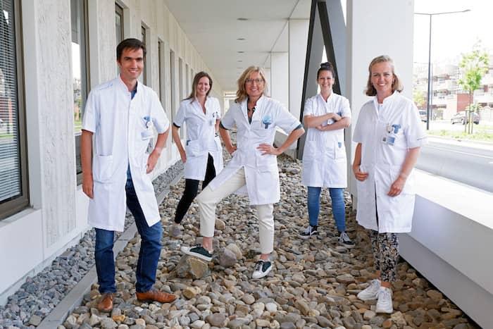 AYA kernteam Reinier de Graaf ziekenhuis