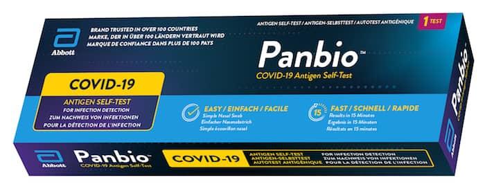 Abbott Panbio COVID-19 Antigen Self-Test