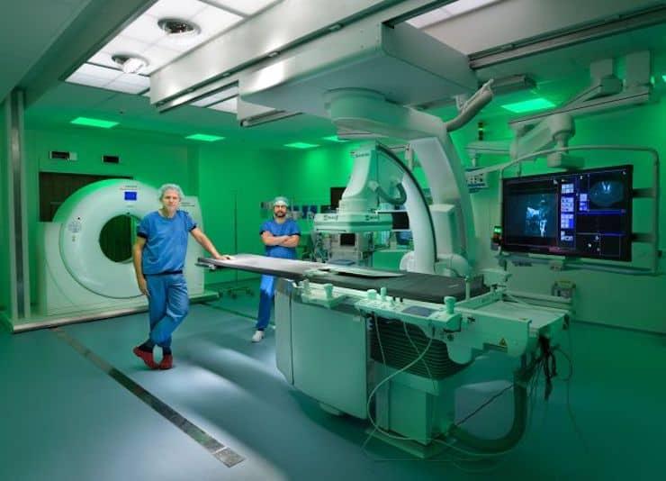 Hybride operatiekamer Antoni van Leeuwenhoek